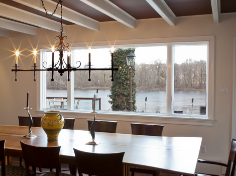 River View Dining Area